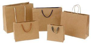 torby papierowe z nadrukiem różne